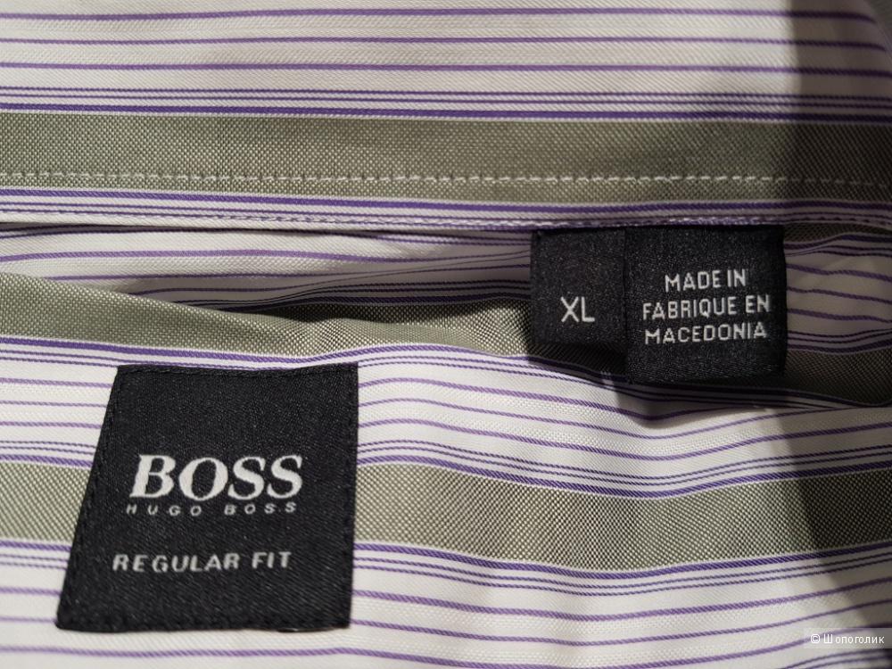 HUGO BOSS мужская рубашка р. XL