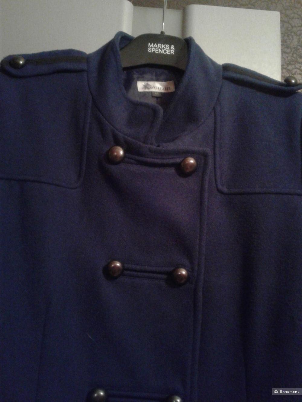 Пальто-бушлат Kiabi размер фр. 44, рос. 48