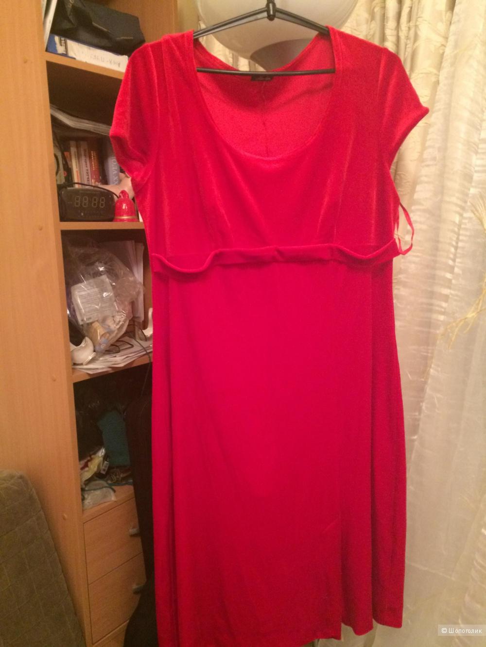 Бархатное платье  Marlen, 50 размер