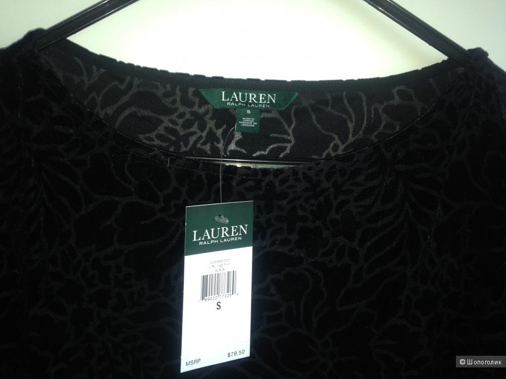 Велюровый топ Ralph Lauren размер S