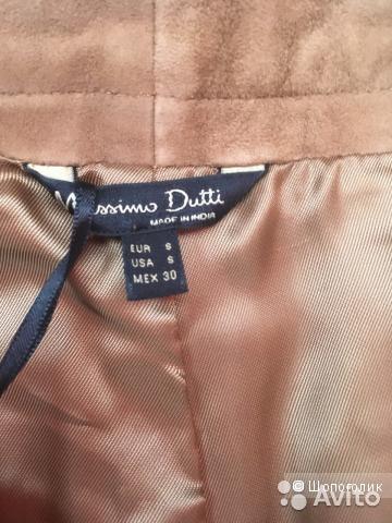 Замшевые кюлоты Massimo Dutti, размер S