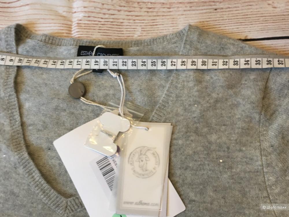 Кашемировое платье, ESTHEME CACHEMIRE. Размер L, на рос. 46