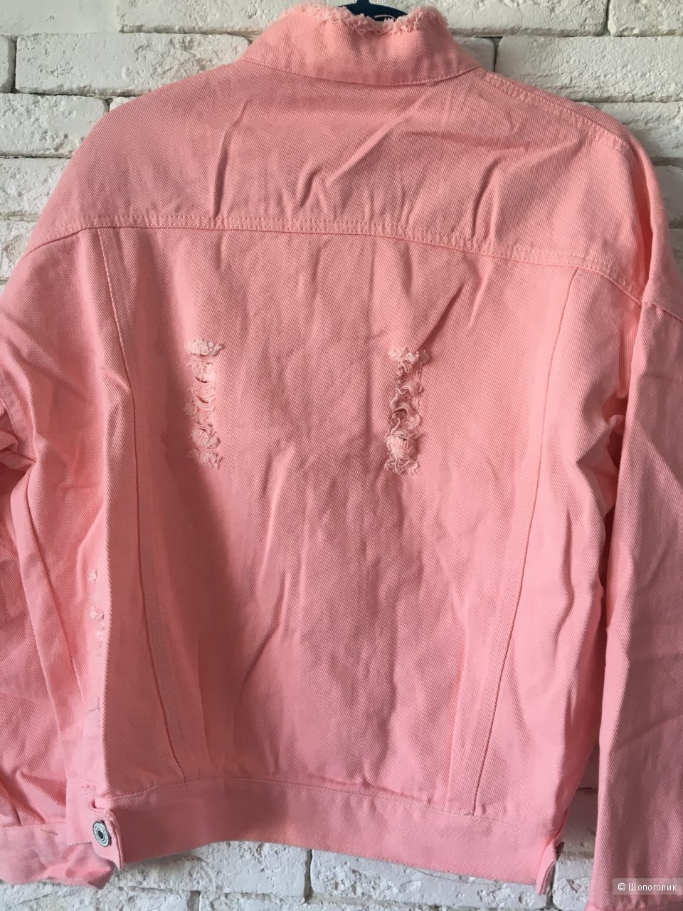 Куртка-жакет Dior Pink, oversize
