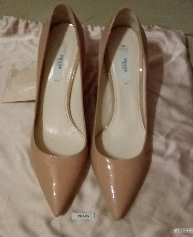 Prada классические туфли 37,5