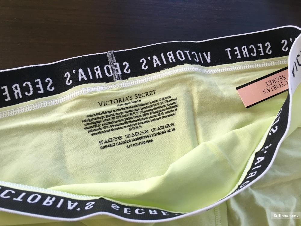 Хлопковые трусики - хипстеры Victoria's Secret, размер M (сет из 2 штук)