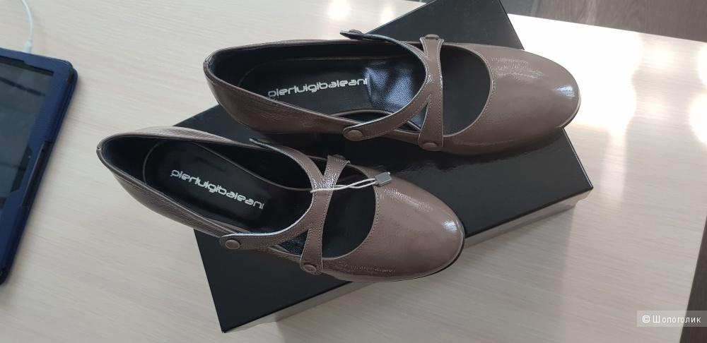 Туфли кожаные Pierluigibaleani 36 размер