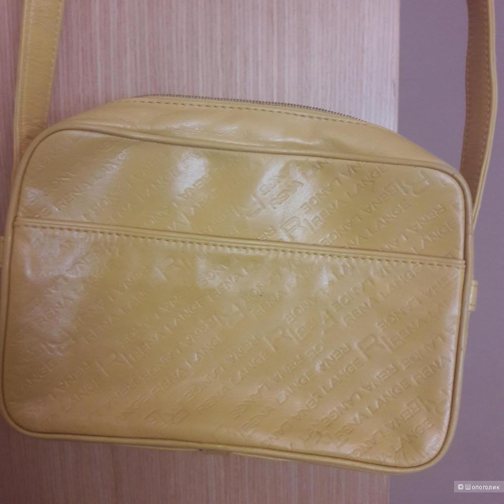 Кожаная сумка Rena Lange