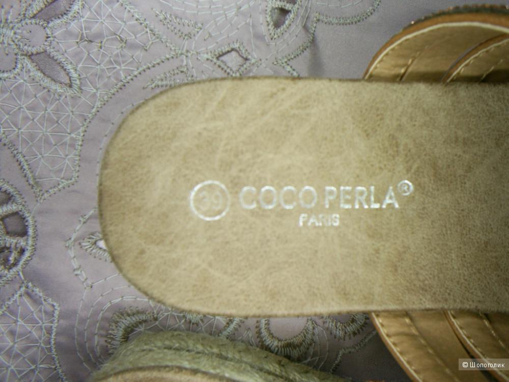 Шлепанцы от Coco Perla р 39. .