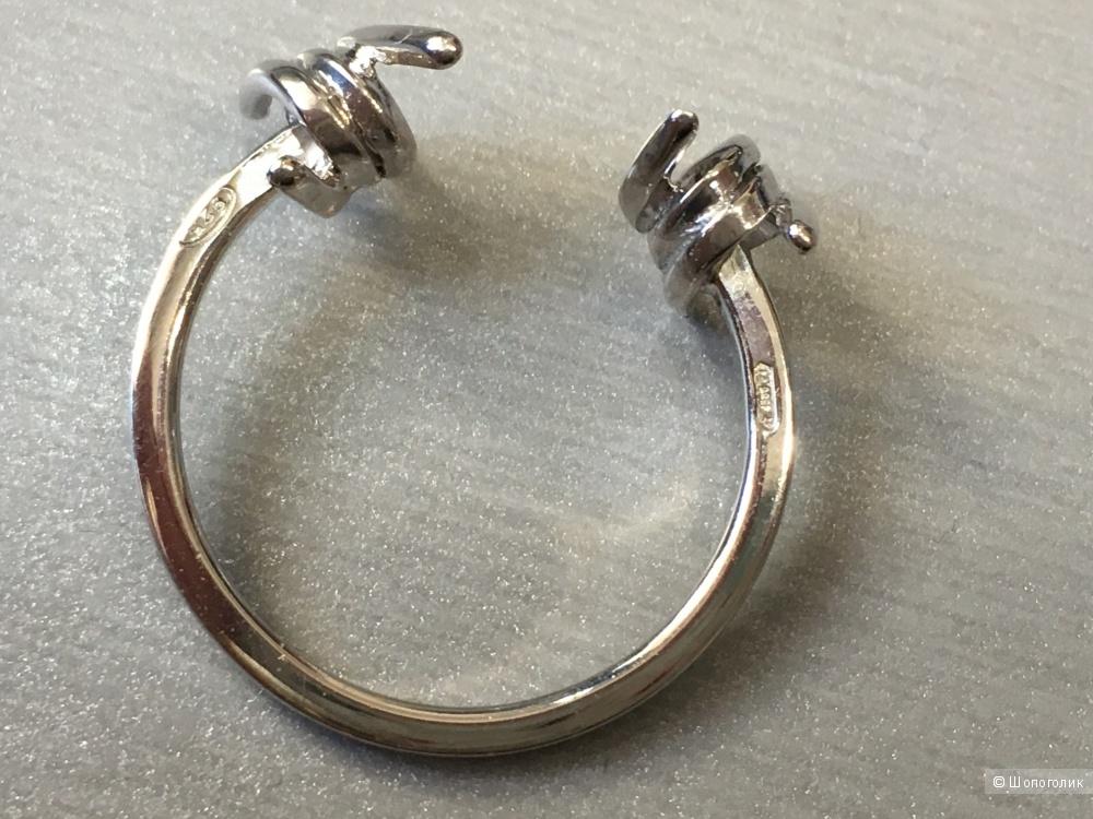 Кольцо DSQUARED2, ONESIZE, Серебро 100%