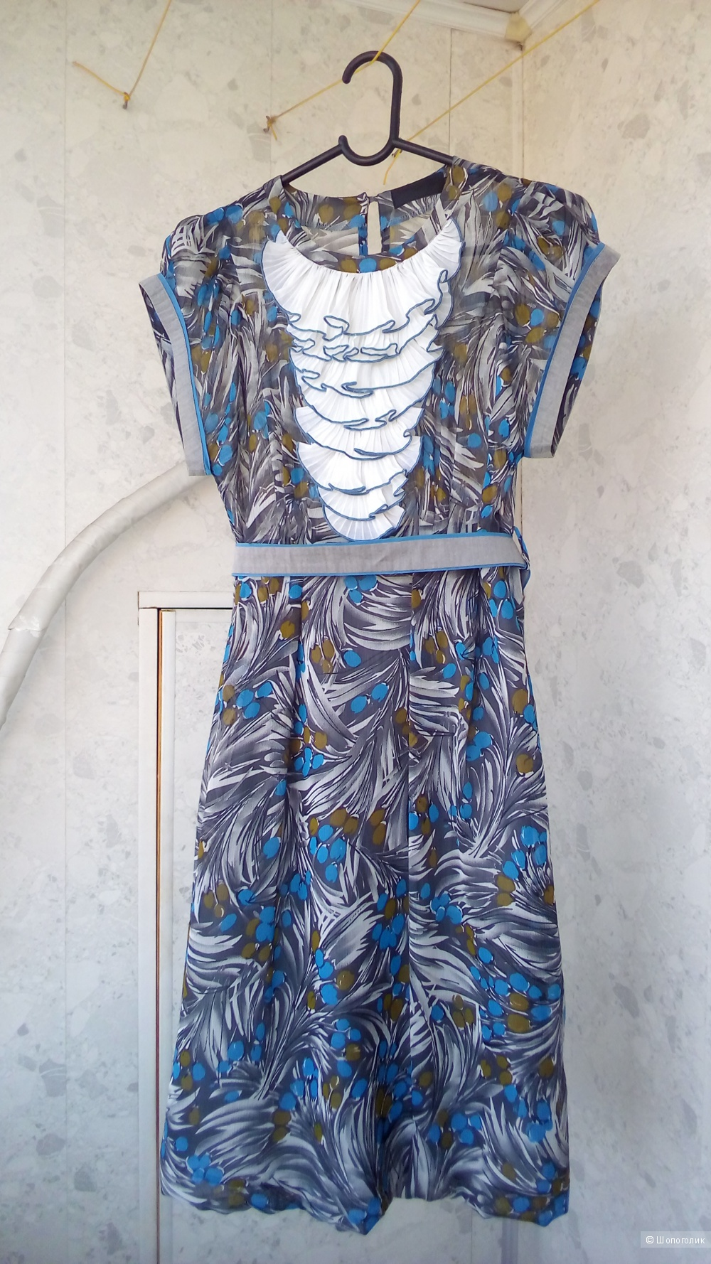 Платье ноу нэйм,  42-44 размер, (84-88)