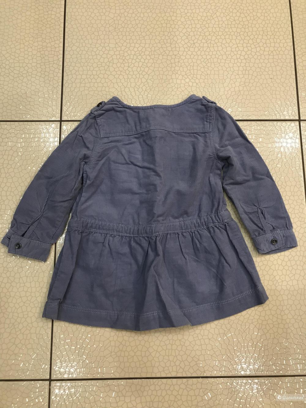 Платье для девочки Zara Baby р 82 см