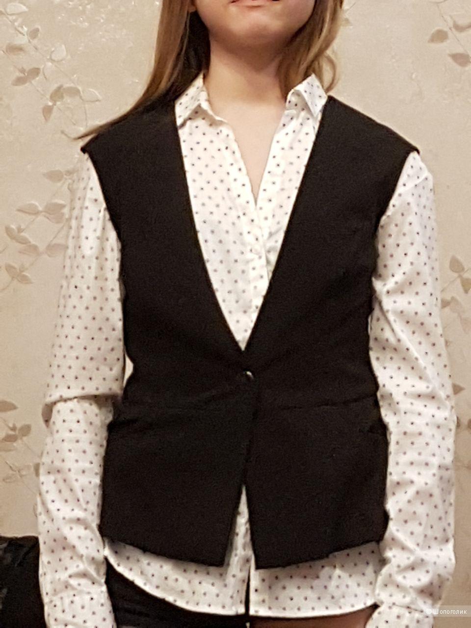 Рубашка H&M, размер 38 (на 44)