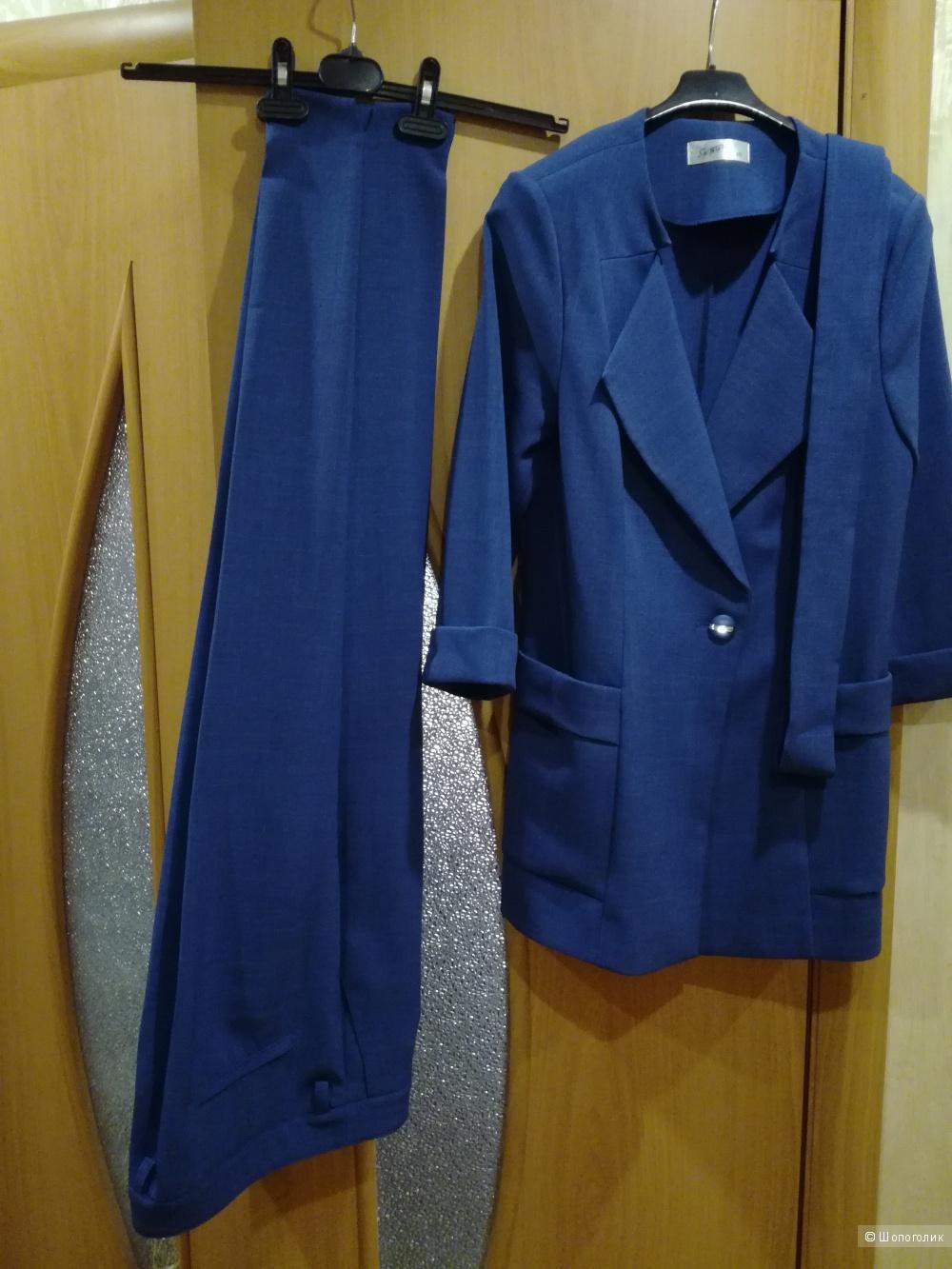 Женский брючный костюм Ярон 48 размер