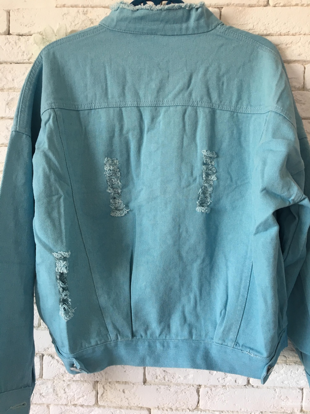 Джинсовпя куртка Blue, oversize
