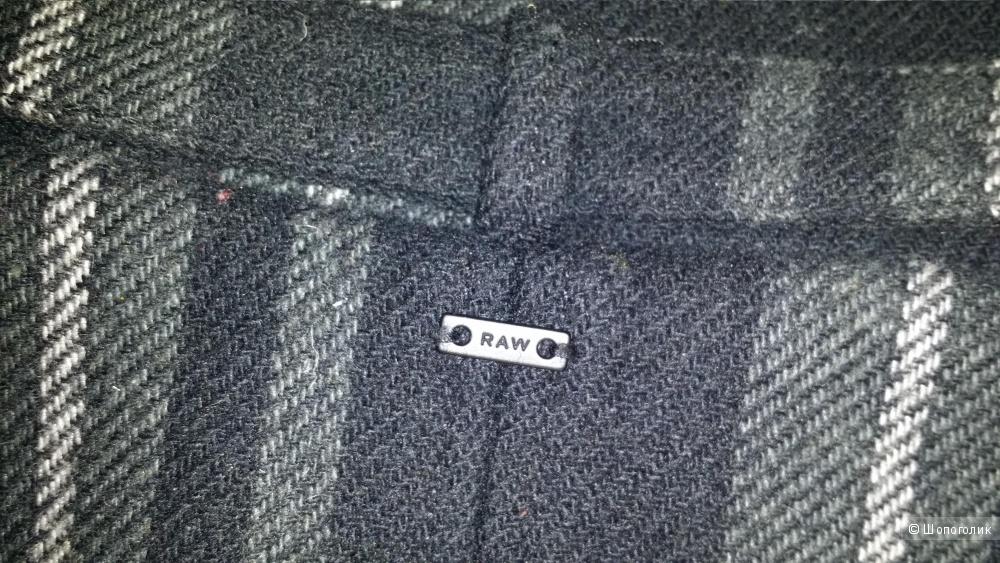 Пальто-кокон  в клетку G Star Raw,  S 42-44