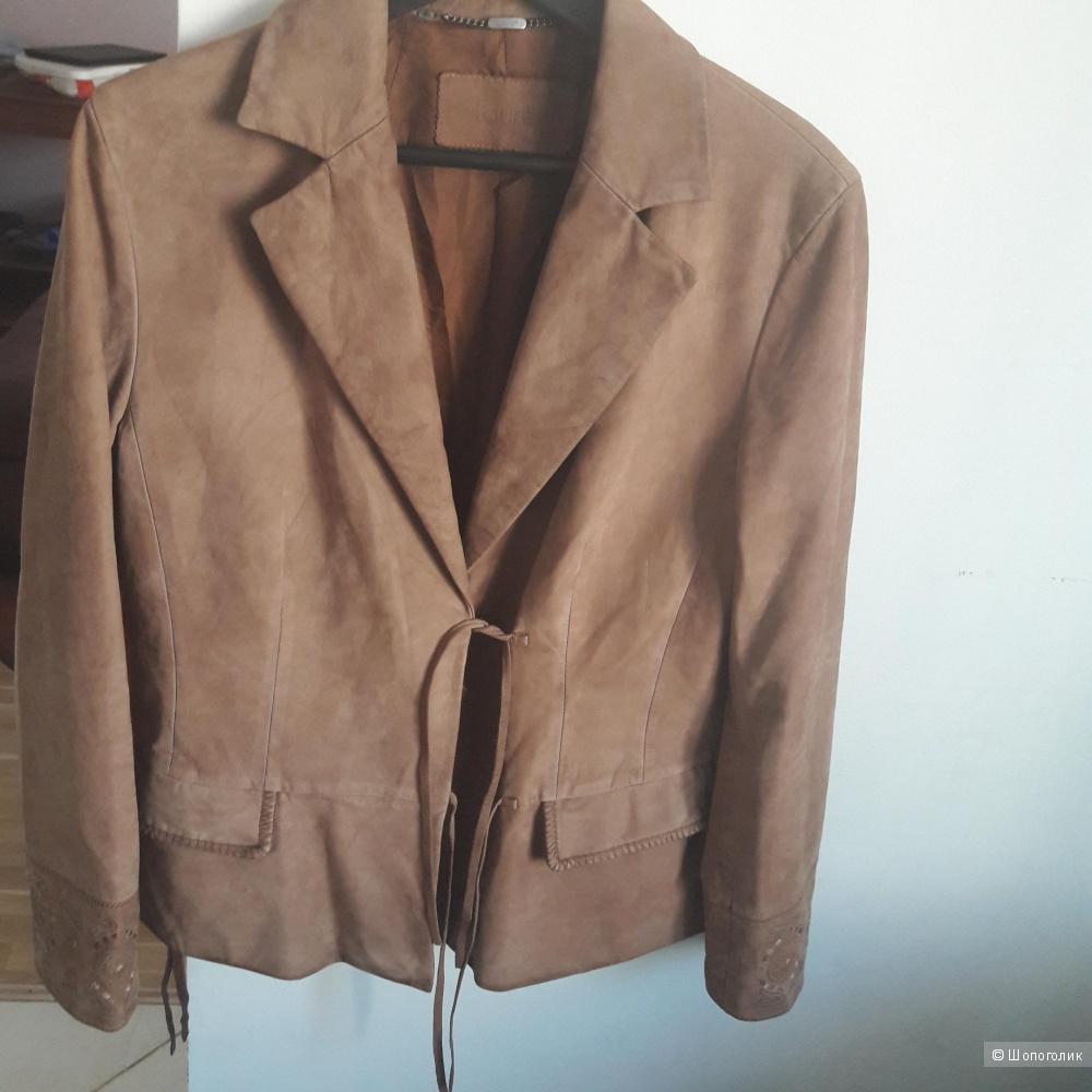 Замшевая куртка-пиджак Laurel 40 европейского размера
