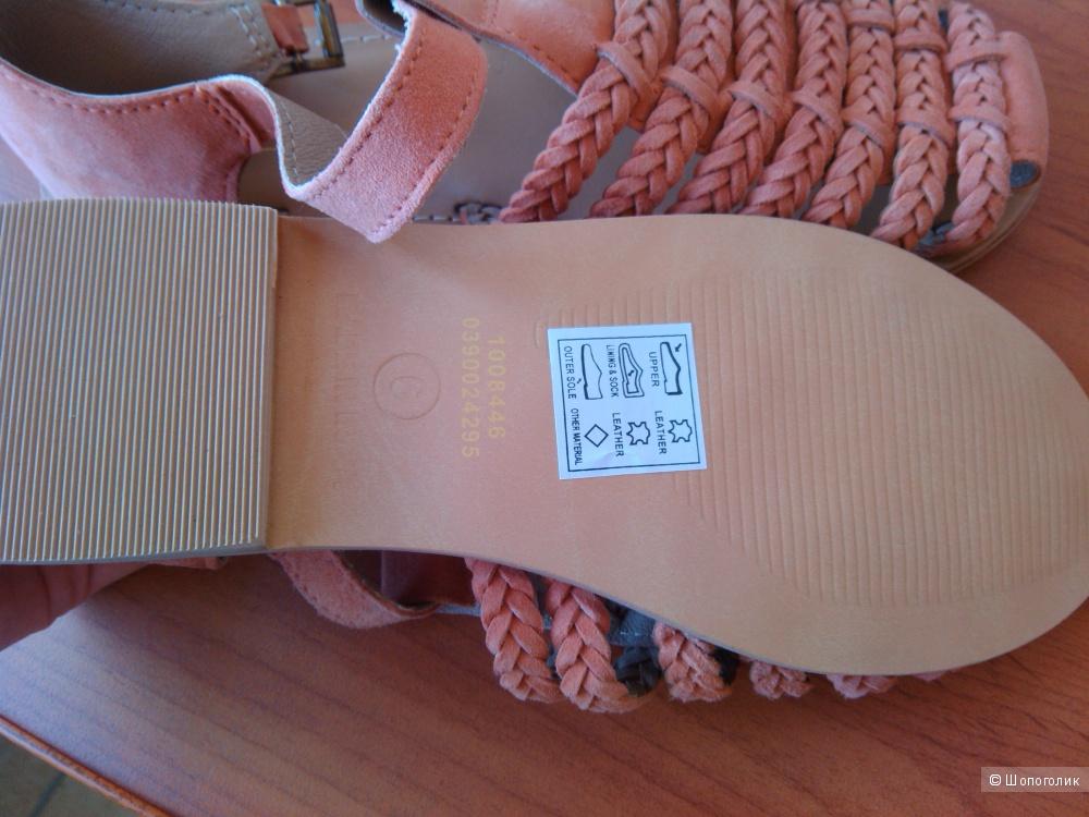 Замшевые босоножки 39 размер ASOS
