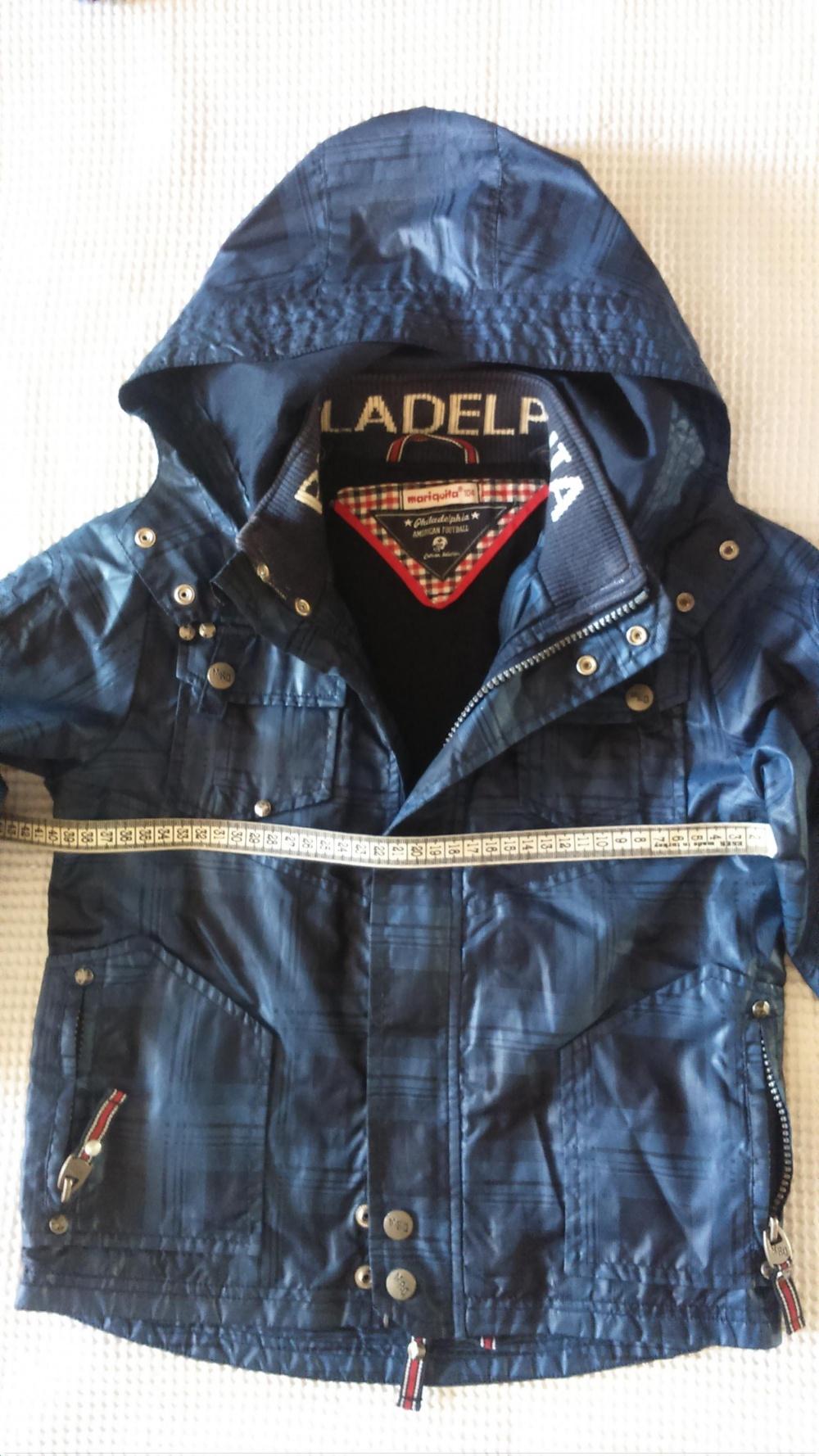 """Куртка детская для мальчика, рост 104, """"Philadelphia American football"""""""