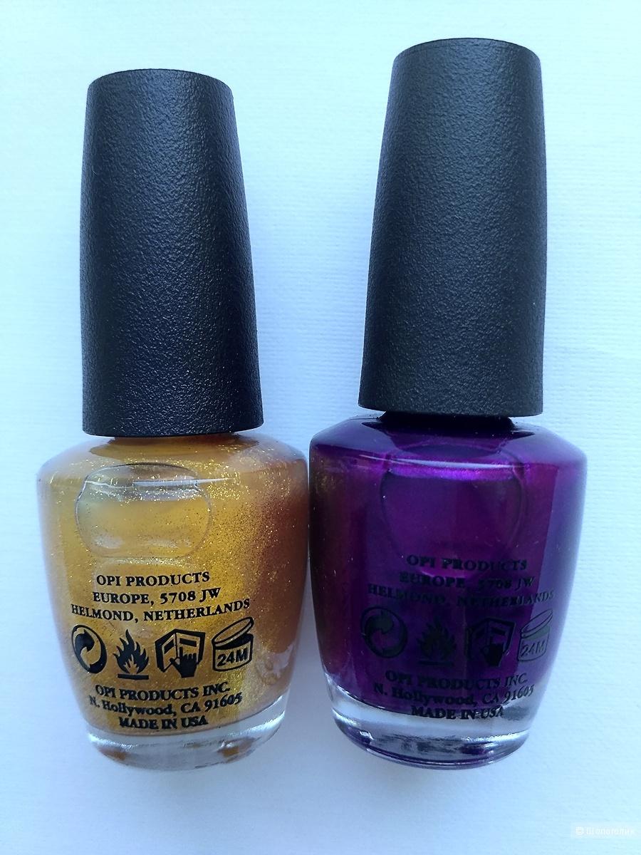 Сет из 2 лаков для ногтей O.P.I., США