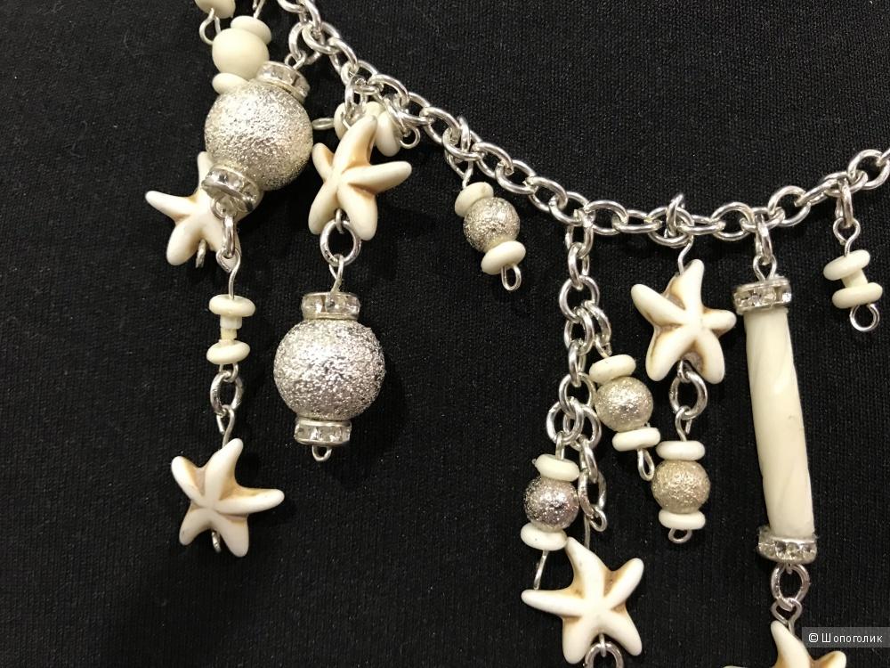 Комплект: колье и браслет, Ангелина Земскова