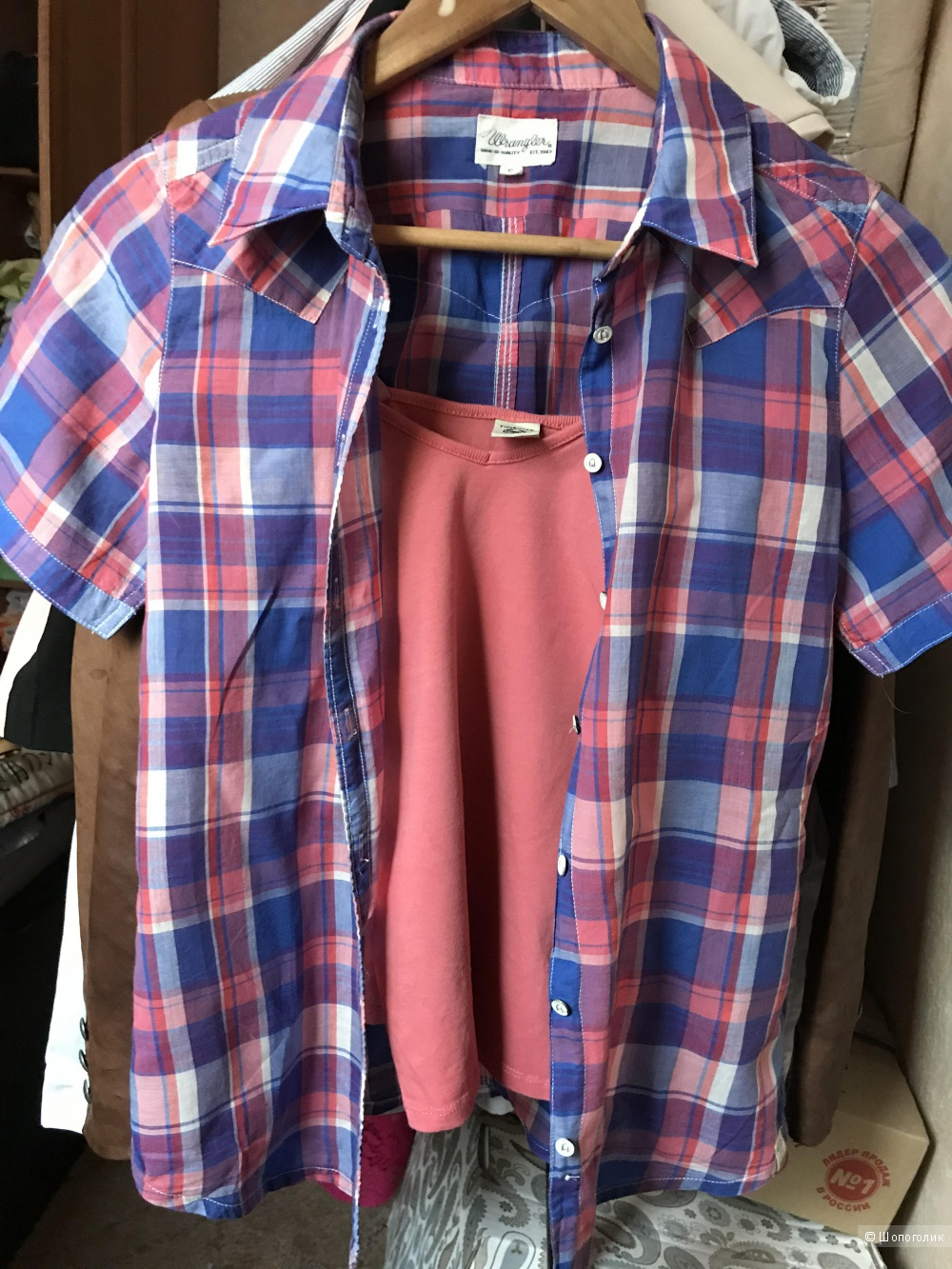 Рубашка Wrangler размер S