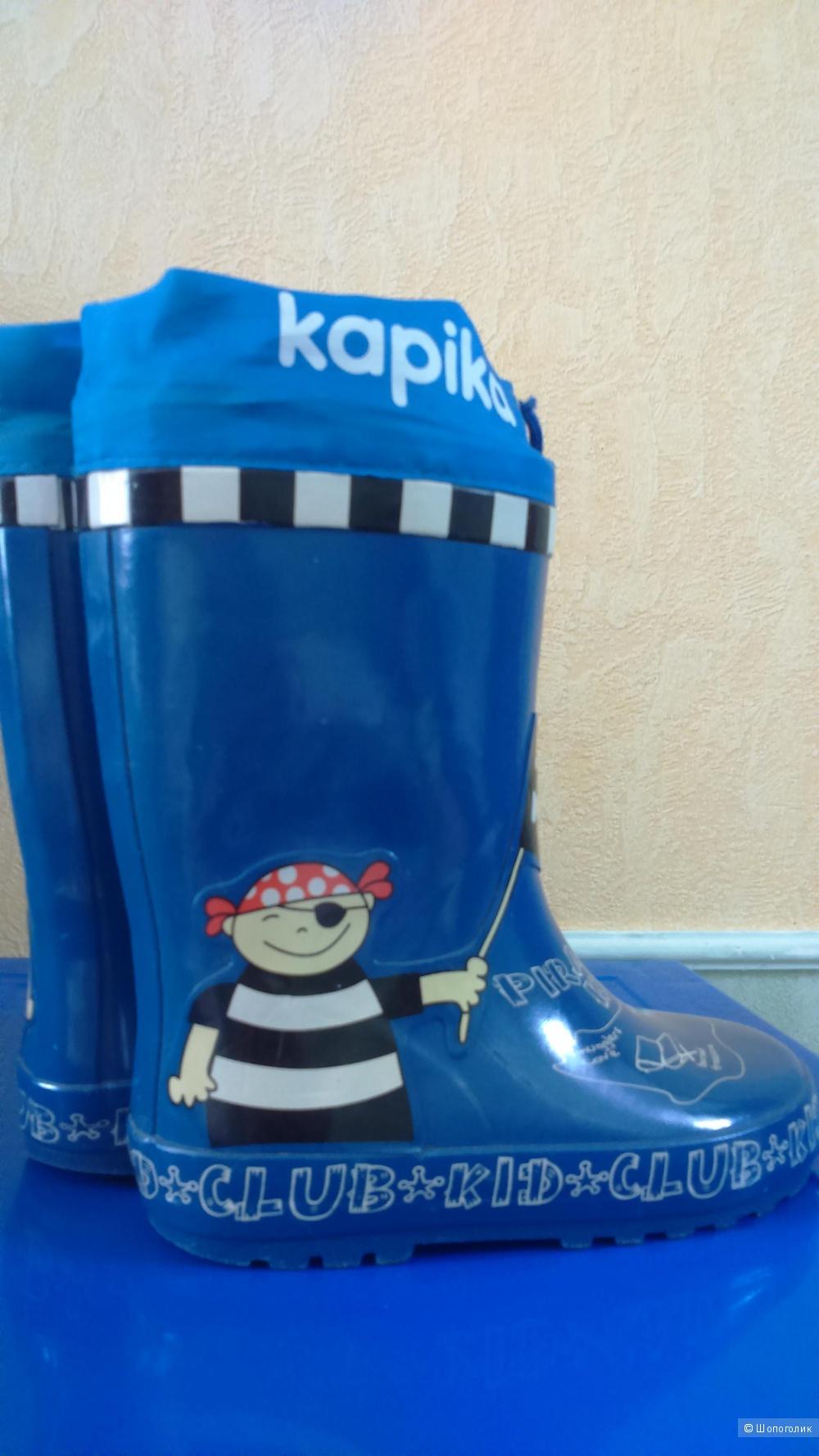 Резиновые сапоги, размер 29, Kapika.