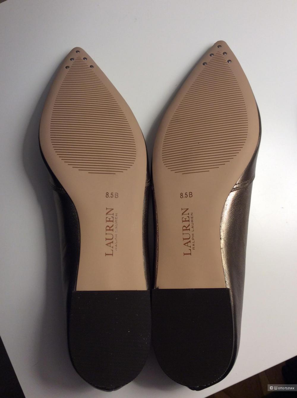Балетки Lauren р.8,5 (на стопу примерно 25 см)