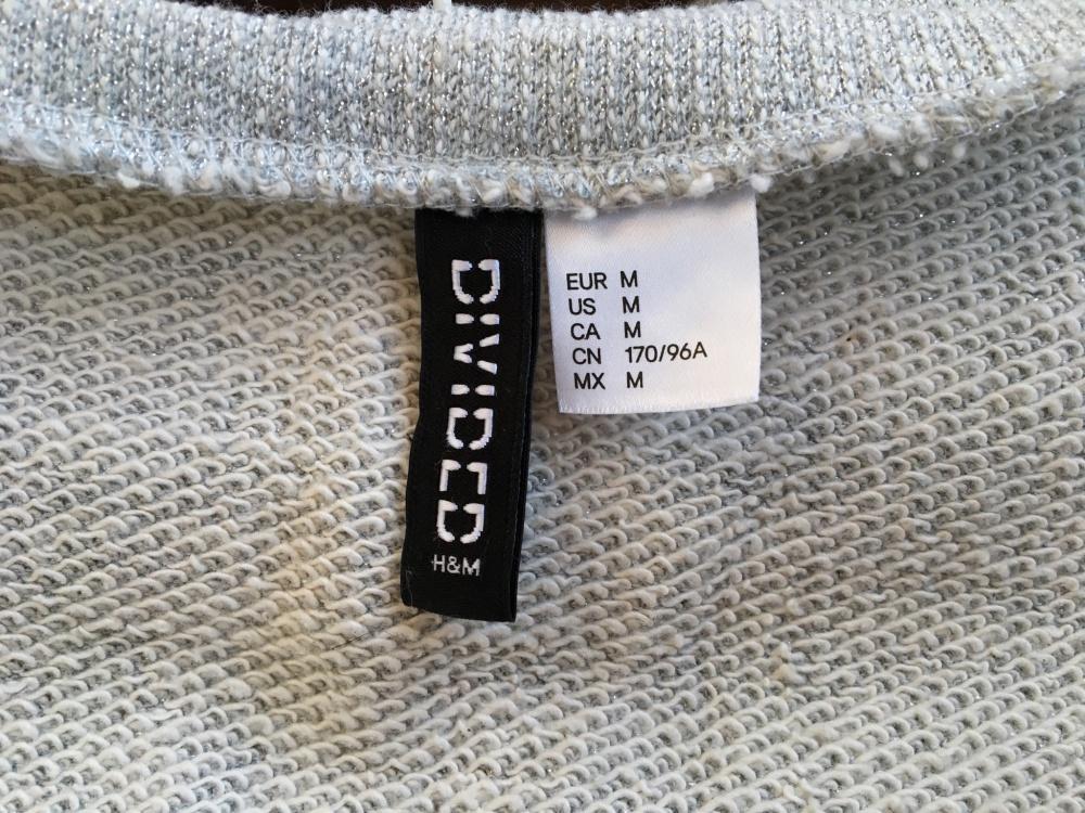 Oversize футболка H&M, размер М