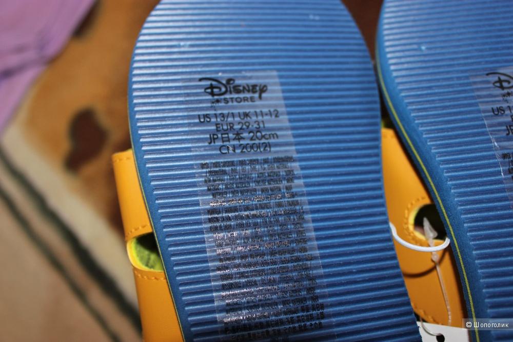 Детские шлёпанцы Disney, размер 29-31 (20 см)