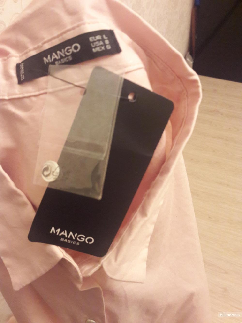 Mango basic: рубашка  бойфренд, L