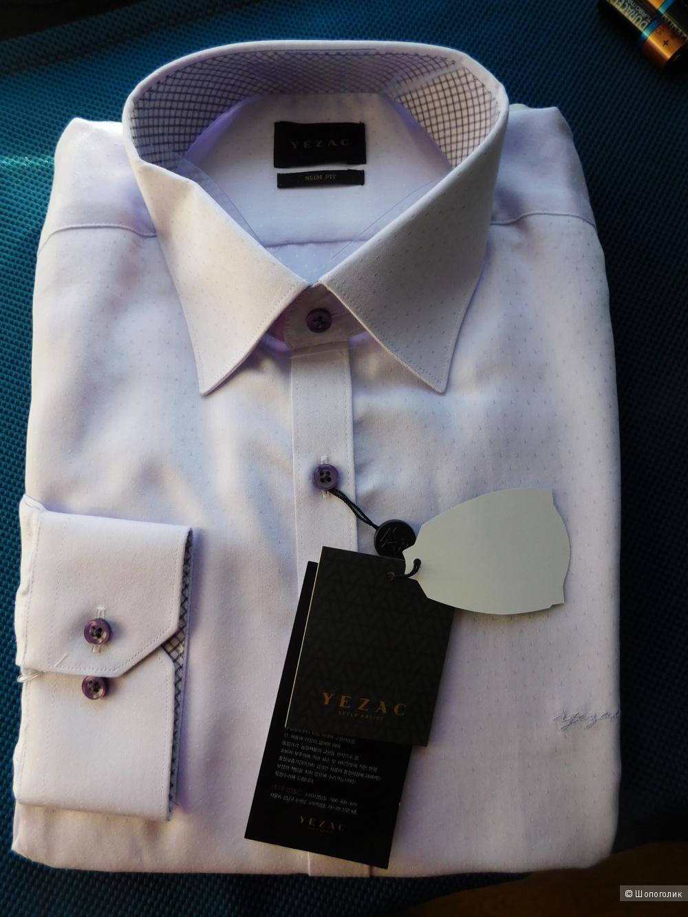 Рубашка мужская Yezac (Южная Корея), размер S