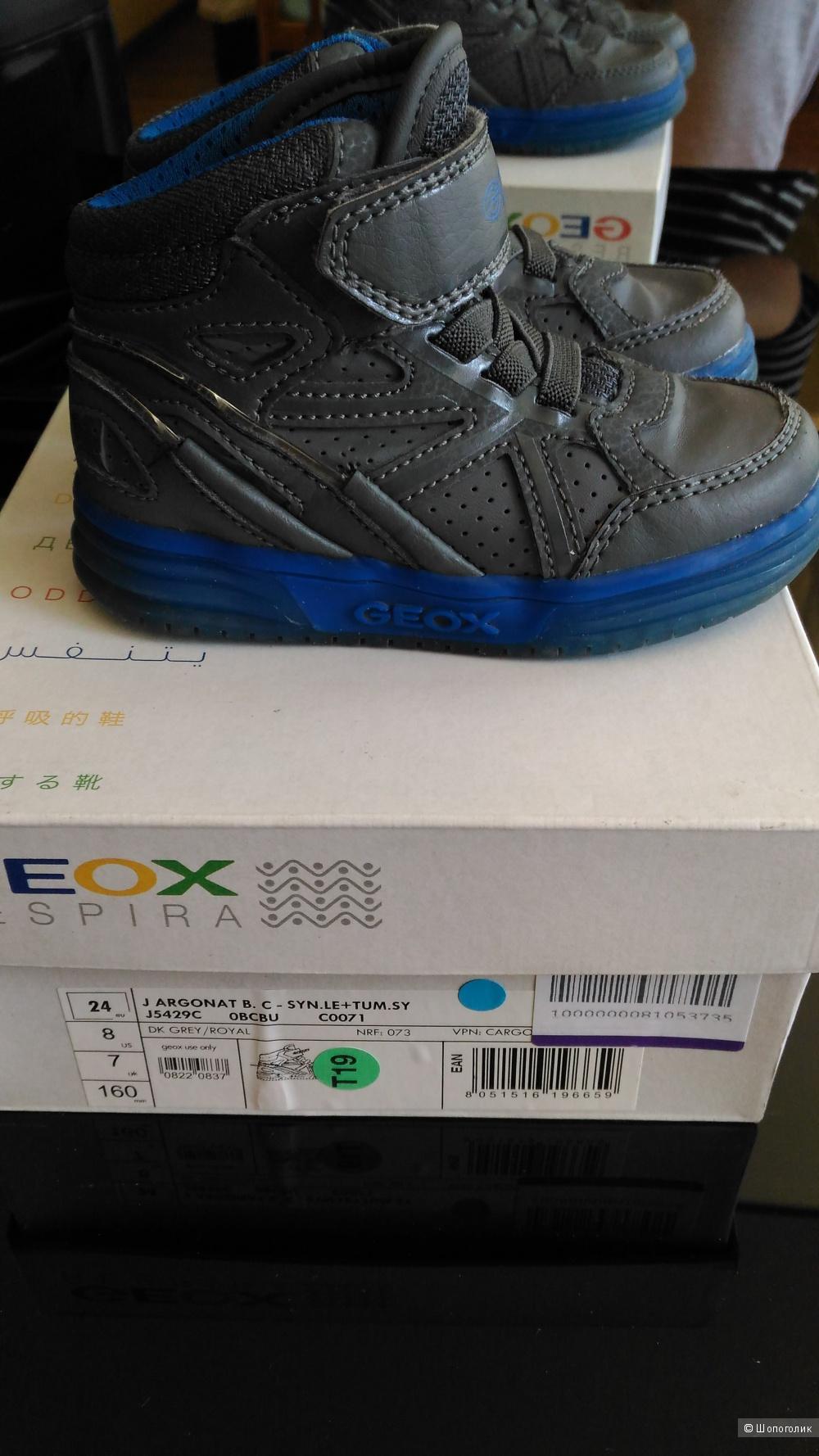 Высокие кеды, кроссовки Geox для мальчика, 24 рр.