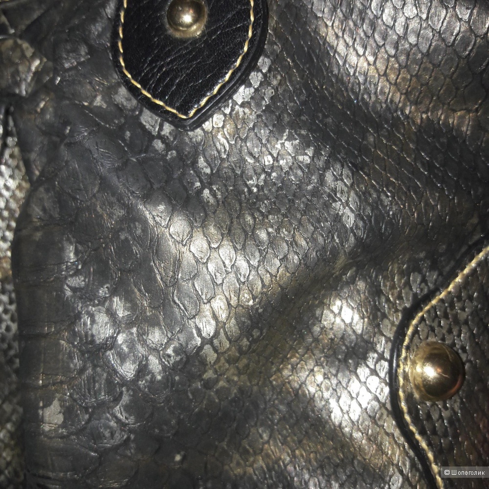 Сумка имитация кожи питона Roxx