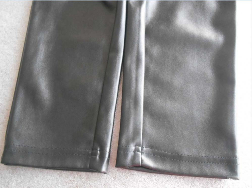 Брюки пуш-ап с эффектом кожи Calzedonia размер М