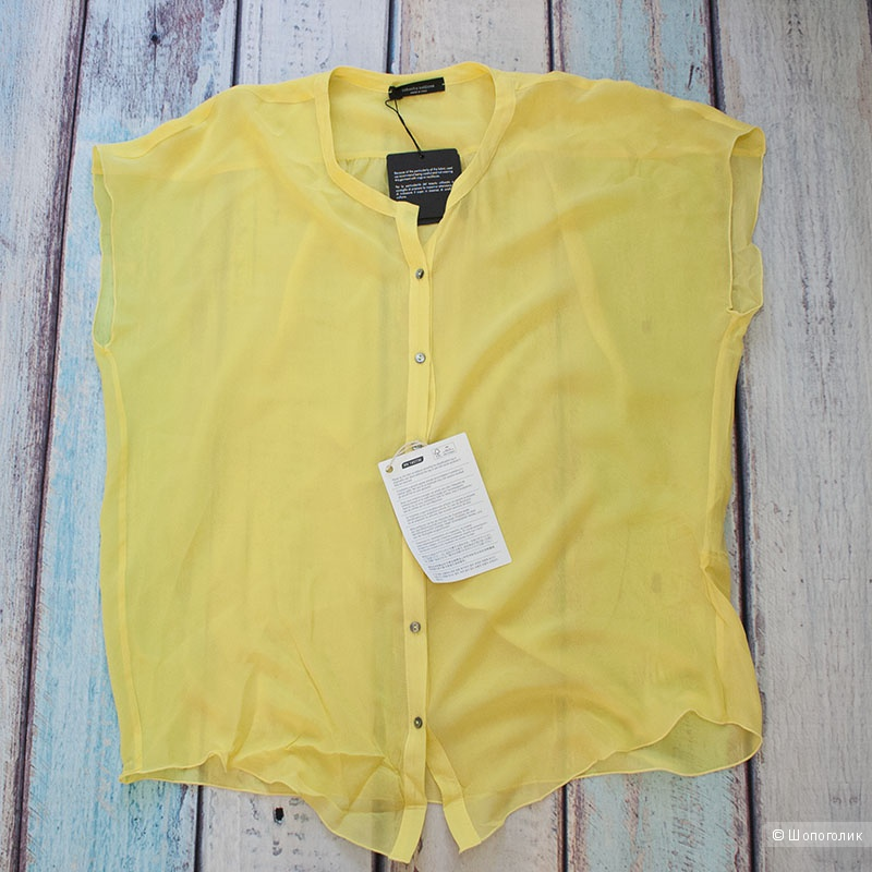 Шелковая блуза Roberto Collina  42-44р.