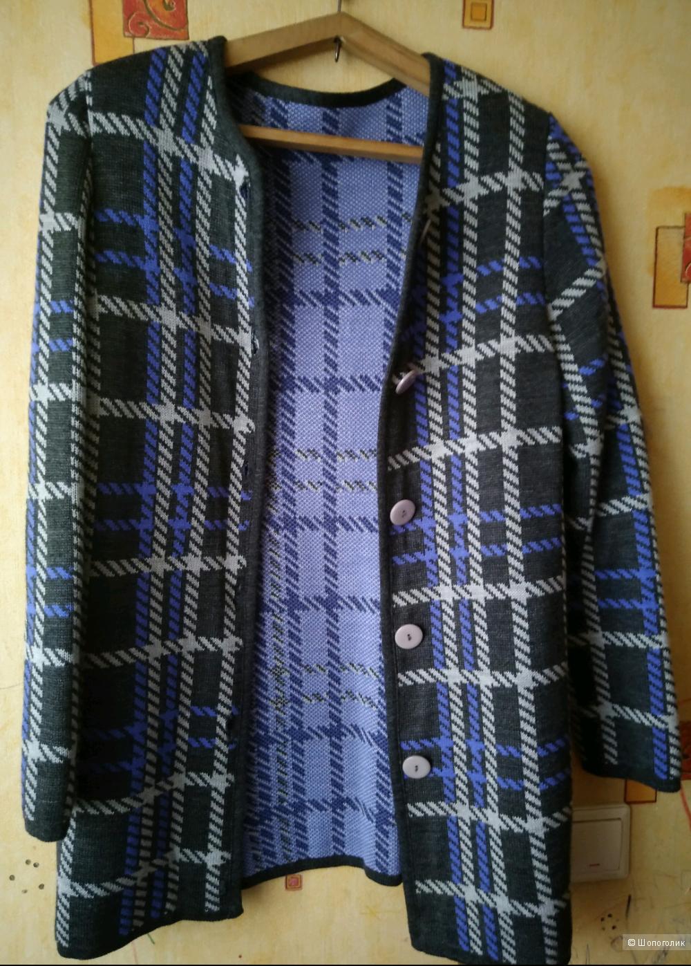 Пальто вязаное Milana Style, 46