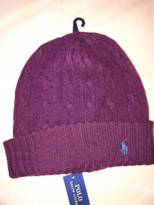 Cable Wool-Cashmere Hat, Ralph Lauren, one size
