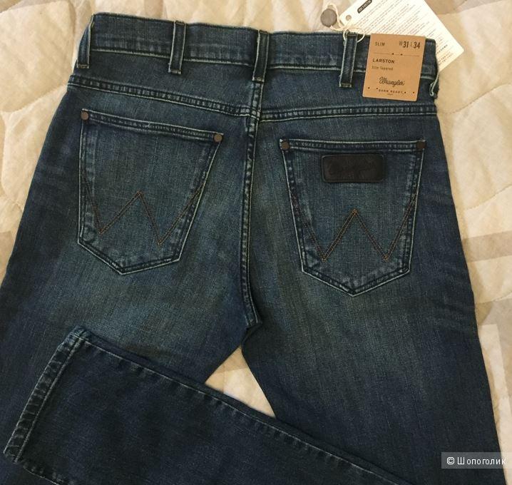 WRANGLER джинсы мужские 31W-34L