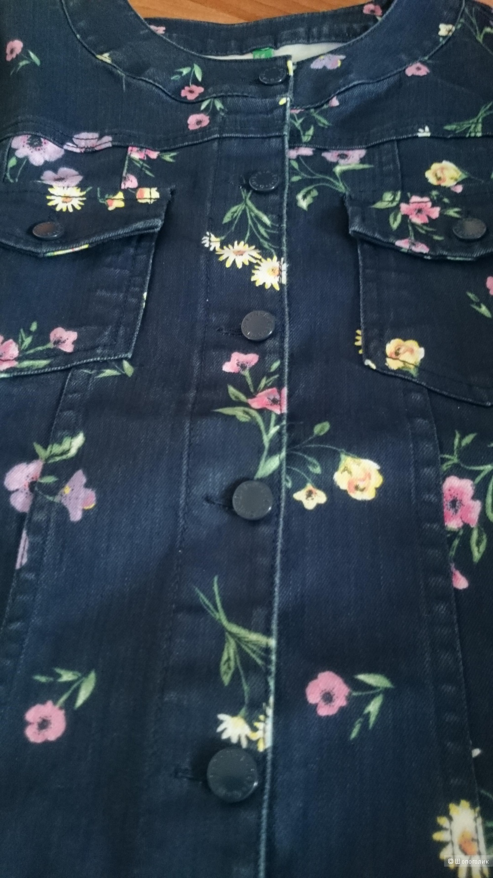 Джинсовая куртка BENETTON. Размер XXXL
