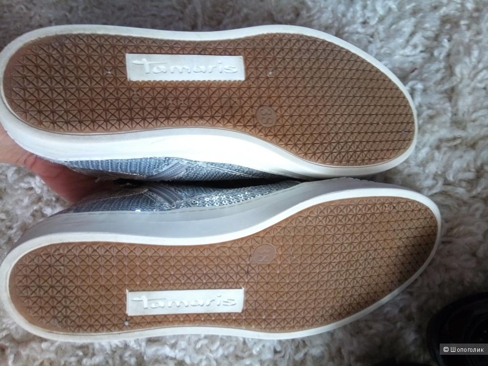 Лотом  Кеды Tamaris и туфли размер 37-38р,
