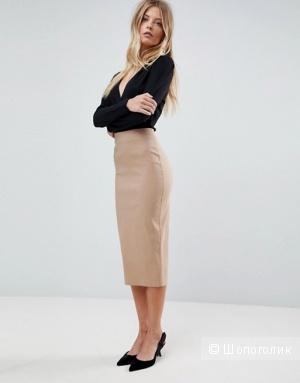 Льняная юбка-карандаш Distler, размер 48-50