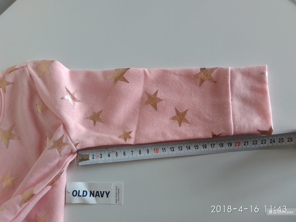 Кофта толстовка на девочку 2-3 года Old Navy