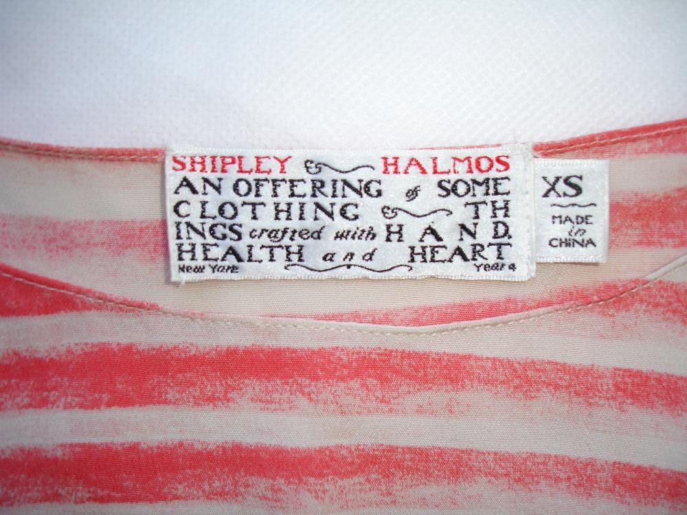 Шелковый топ Shipley & Halmos, XS