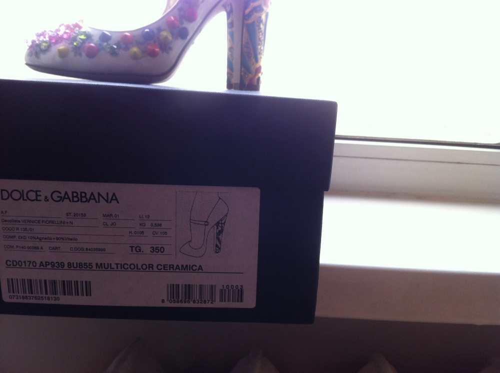 Туфли Dolce & Gabbana,  35 it  (35 rus)