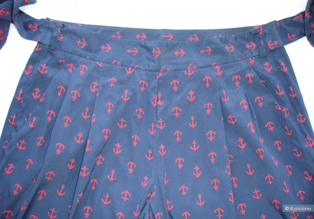 Шелковые брюки DKNY, размер US 4 (42-44)
