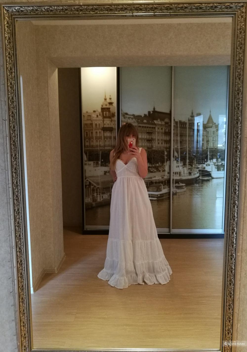 Платье в пол. Сарафан. Patrizia Pepe. 44it( 46)