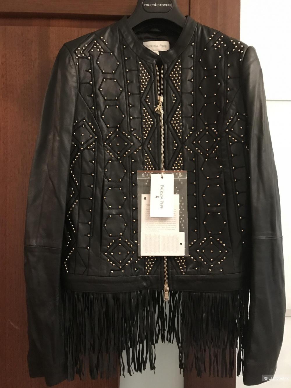 Кожаная Куртка, Patrizia Pepe , размер 42i