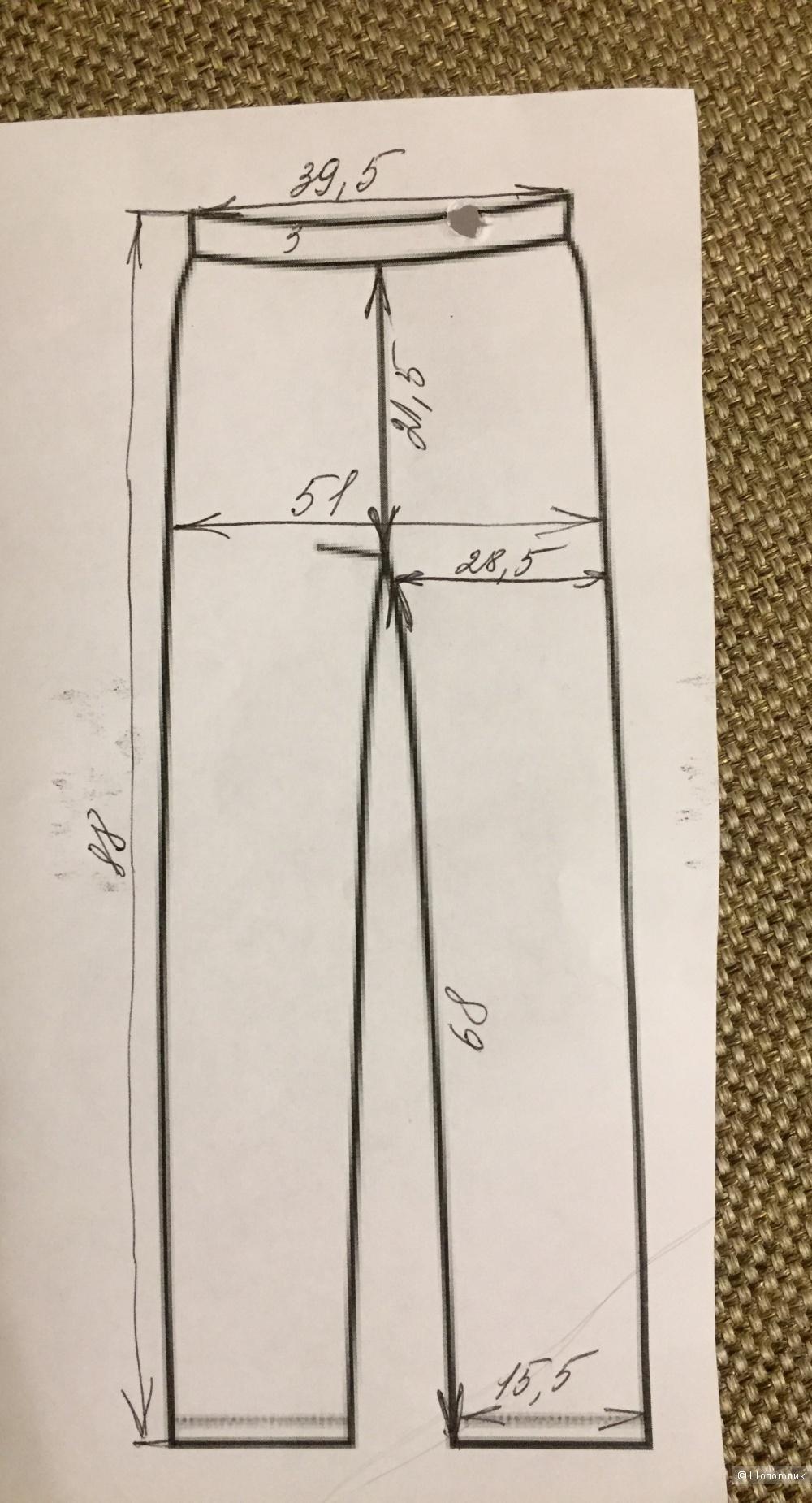 Капри Sisley 42-44 размер