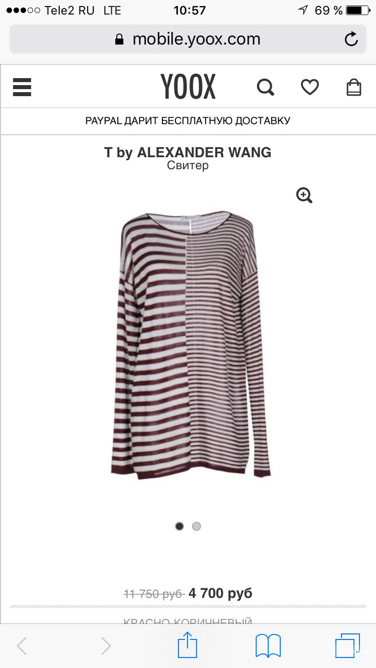 T By Alexander Wang , лонгслив , размер S