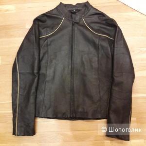 Кожаная куртка 38 европейского размера